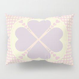 Cute heart Pillow Sham
