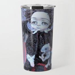 Vincent the Vampire boy. Travel Mug