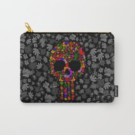 Floral sugar skull iPhone 4 4s 5 5c 6 7, pillow case, mugs and tshirt Carry-All Pouch