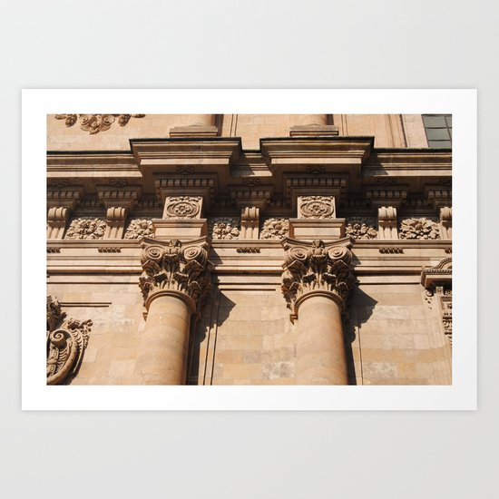 Salamanca Art Print