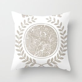 Achieve Any Goal Soccer Player Gift Throw Pillow