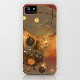 Goblin Balloon Brigade iPhone Case