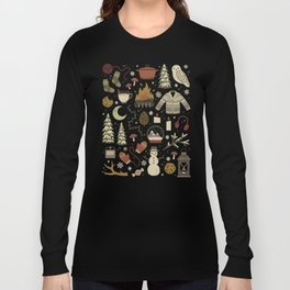 Winter Nights Long Sleeve T-shirt