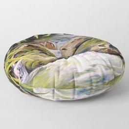Water Oasis Floor Pillow