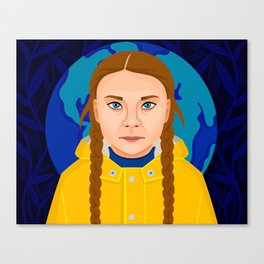Greta Thunberg Canvas Print