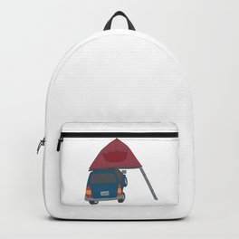 Camping Outdoors Digital Art Backpack