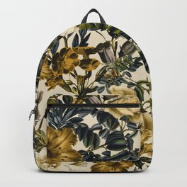 Warm Winter Garden Backpack