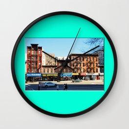 Americana - Harlem - New York Wall Clock