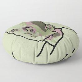 Jack Kerouac Floor Pillow