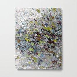 Wintry Bungalow Metal Print