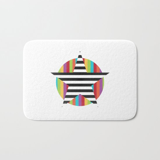 Star & Stripes Bath Mat