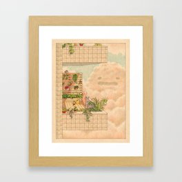 Conversations with the Sky Framed Art Print