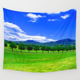 Moving Fast Wall Tapestry