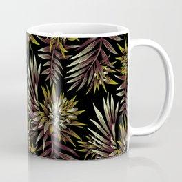 Aechmea Fasciata - Dark Green / Brown Coffee Mug