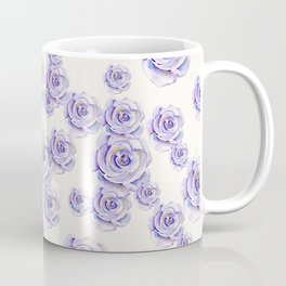 Puple Rose Painting Coffee Mug