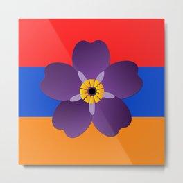 Armenian Genocide Centennial  Metal Print