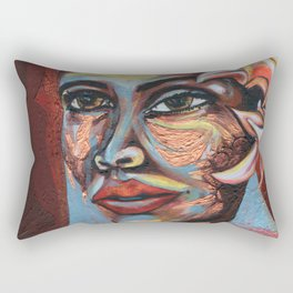 Lady Day Rectangular Pillow