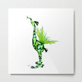Fantasy Bird Gobi Metal Print