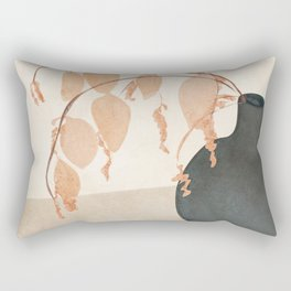 Branches in the Vase Rectangular Pillow