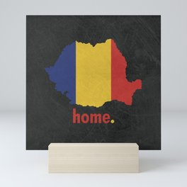 Romania Proud Mini Art Print