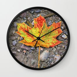 A Walk Through The Woods Wall Clock