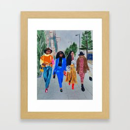 Swag and Swing #original art Framed Art Print
