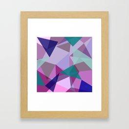Geometric 2.1 Framed Art Print