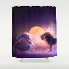 LEO from the Dancing Zodiac Shower Curtain