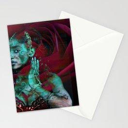 Rosa Orientale tocca Barocco Siciliano Stationery Cards
