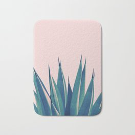 Blush Agave Dream #2 #tropical #decor #art #society6 Bath Mat