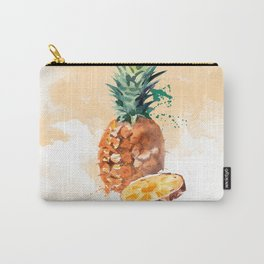 Pineapple in Water Color Plant-Powered Kitchen Carry-All Pouch