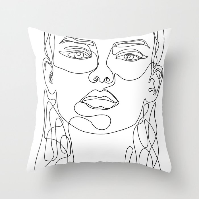 In Perfect Throw Pillow