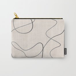 Abstract Line III Carry-All Pouch