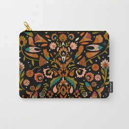 Botanical Print Carry-All Pouch
