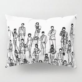 People Pillow Sham