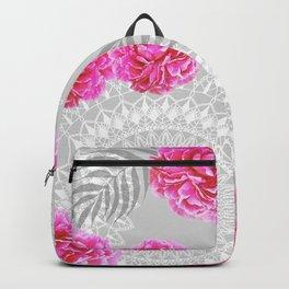 Mandalas and peonies n.1 Backpack