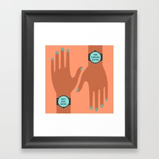 Time is Relative Framed Art Print