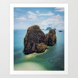 Thai Mogot Art Print