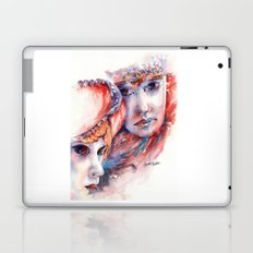 Fire and Ice ... Mask Laptop & iPad Skin