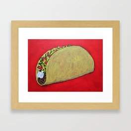 Taco 'Bout Awesome Framed Art Print