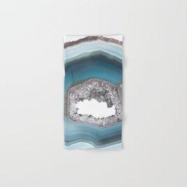 Deep Blue Agate with Amethyst Hand & Bath Towel