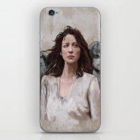 outlander iPhone & iPod Skins featuring Outlander by Gabriella McGregor
