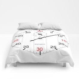 Stop Watch Face Comforters
