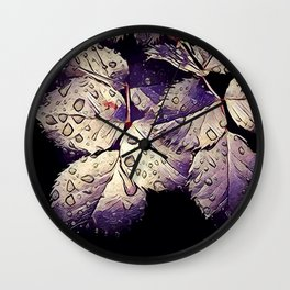 Leaf B1 Wall Clock