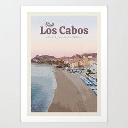 Visit Los Cabos Art Print