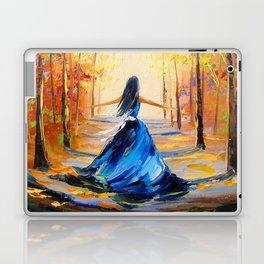 Twilight Princess And Zelda Flying Laptop & iPad Skin