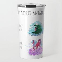 Spirit Animal Series: Coffee For Life Travel Mug