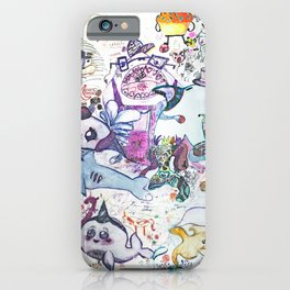 LSD under the sea iPhone Case