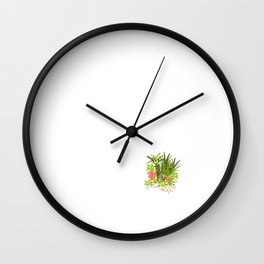 So Many Weeds So Little Thyme Gardening T-Shirt Wall Clock