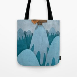 Man of the Mountains Tote Bag